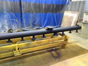colector vapor DN 150